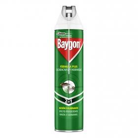 Insecticida cucarachas y hormigas Baygon 400 ml.