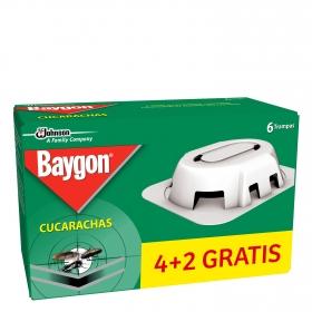 Cebo para cucarachas Baygon 6 ud.