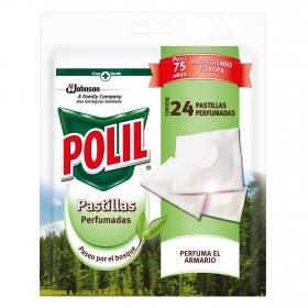 Antipolillas pastillas perfumadas Paseo por el bosque Polil 24 ud.