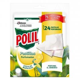 Antipolillas pastillas perfumadas Cítricos del mediterraneo Polil 24 ud.