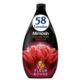 Suavizante concentrado Fleur Rouge Mimosín 58 lavados.