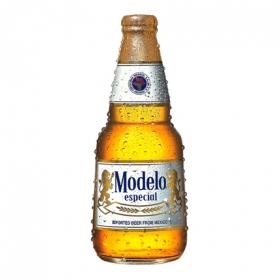 Cerveza Modelo especial botella 35,5 cl.