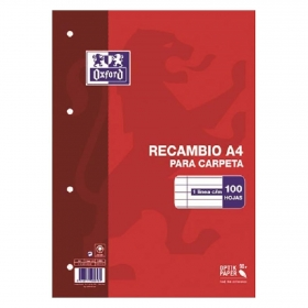 Recambio Hojas A4
