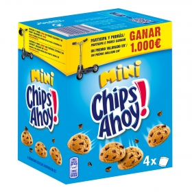 Galletas con pepitas de chocolate Minis Chips Ahoy 160 g.