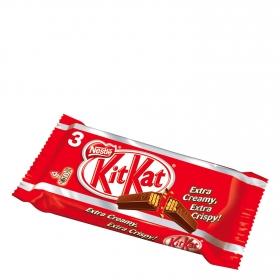 Barrita de galleta crujiente cubierta de chocolate