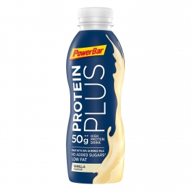Batido de proteínas sabor vainilla sin azúcar añadido Powerbar 500 ml.