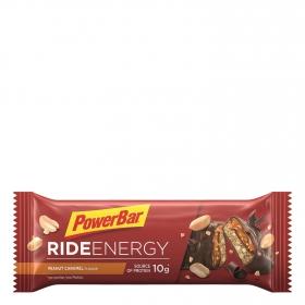 Barritas energéticas con cacahuete y caramelo Powerbar 55 g.