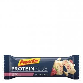 Barritas de proteínas con L-carnitine sabor yogur con fresa Powerbar 35 g.