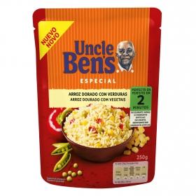 Arroz dorado con verduras Uncle Ben's 250 g.