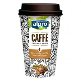 Café de brasil con almendra Alpro 200 ml.