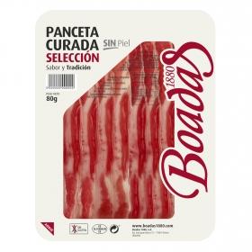 Panceta curada selección Boadas 1880 sin gluten 80 g,