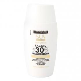 Protección solar facial pieles sensibles SPF 30 Les Cosmétiques -Sun Ultimate Sensitive 50 ml