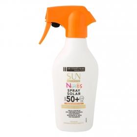 Spray solar SPF 50+ Niños Les Cosmétiques -Sun Ultimate 250 ml.