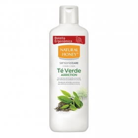 Gel de ducha de Té Verde Natural Honey 650 ml.
