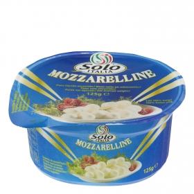 Perlas de queso mozzarella