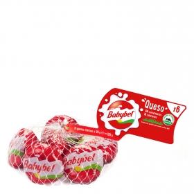 Queso mini Babybel pack de 6 unidades de 20 g.