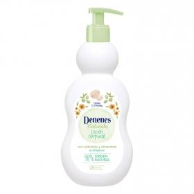 Loción corporal hidratante ecológica Natural Denenes 400 ml.