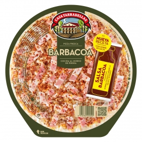 Pizza barbacoa Casa Tarradellas 410 g.