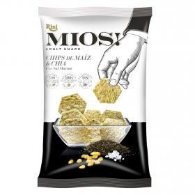 Chips de maíz y chía