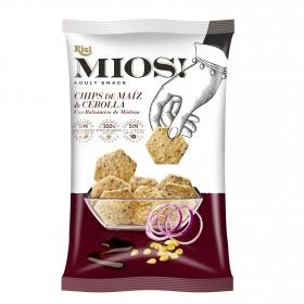 Chips de maíz y cebolla