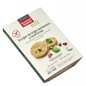 Burguer de aceitunas y trigo ecológico Vegan Germinal sin gluten 180 g.
