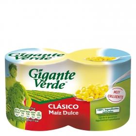 Maíz Gigante Verde Pack 2x140 g.