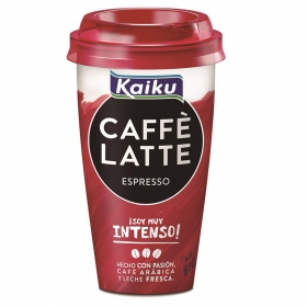 Café latte espresso Kaiku 370 ml.