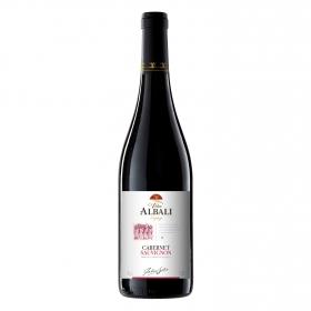 Vino de la tierra de Castilla tinto Cabernet Sauvignon Viña Albali 75 cl.