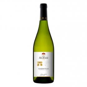 Vino de la tierra de Castilla blanco Chardonnay Viña Albali 75 cl.
