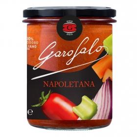 Salsa napolitana para pasta Garofalo tarro 400 g.