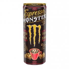 Café espresso con leche Monster 250 ml.