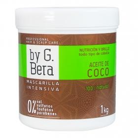 Mascarilla intensiva Aceite de Coco By G. Bera 1 kg.