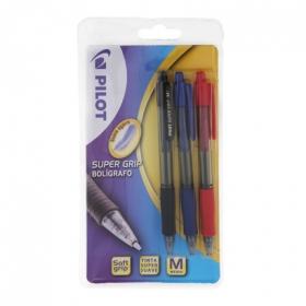 Bolígrafos Negro / Azul / Rojo