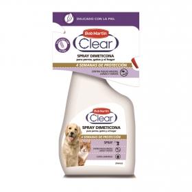 Spray para ambiente dimeticona para perro y gato