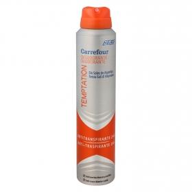 Desodorante  Temptation anti-transpirante 24h