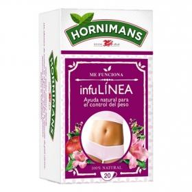 InfuLínea de manzana, malva y saúco en bolsitas Hornimans 20 ud.