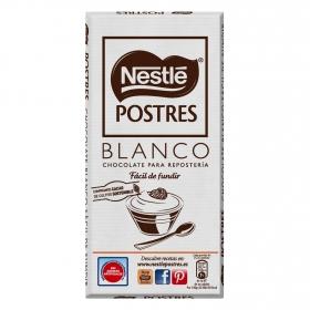 Chocolate blanco postres