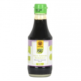 Salsa teriyaki ecológtica Tiger Khan 200 ml.