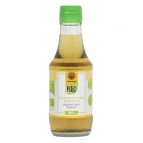 Vinagre de arroz ecológico Tiger Khan 200 ml.