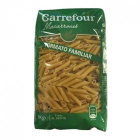Macarrones Carrefour 1 kg.