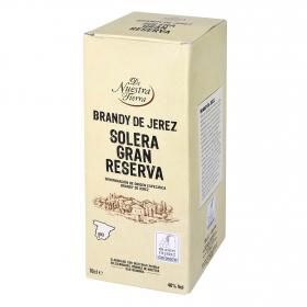 Brandy De Nuestra Tierra solera Gran Reserva 70 cl.