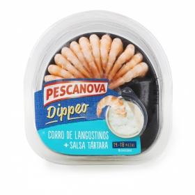 Dippeo langostino Salsa tártara