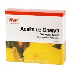 Complemento alimenticio Aceite de onagra Vive Plus 48 perlas