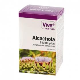 Complemento alimenticio Alcachofa Vive Plus 50 cápsulas