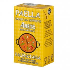 Caldo para paella valenciana Aneto sin gluten y sin lactosa 1 l.