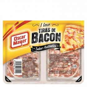 Tiras de bacon Oscar Mayer sin gluten 130 g.