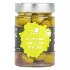 Aceitunas con algas Dulse