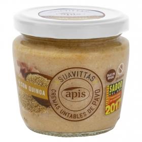 Crema de pavo con quinoa