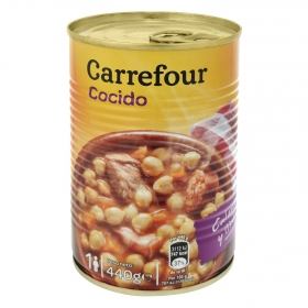 Cocido madrileño Carrefour 440 g.