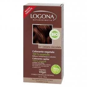 Colorante vegetal ecológico nº 091 Castaño Chocolate